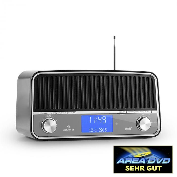 Nizza DAB+ Retro Radio Bluetooth FM AUX