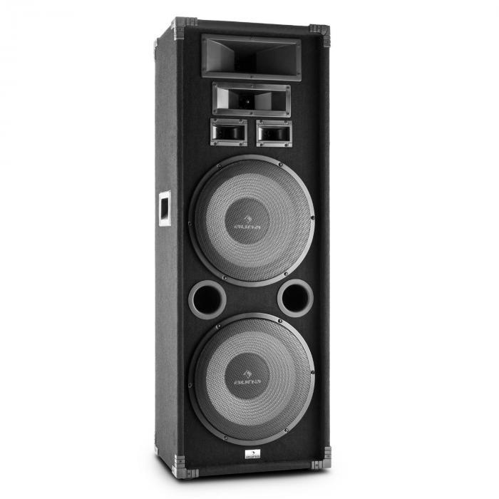 PA-2200 Enceinte PA Fullrange sono DJ système 3 voies subwoofer 30cm