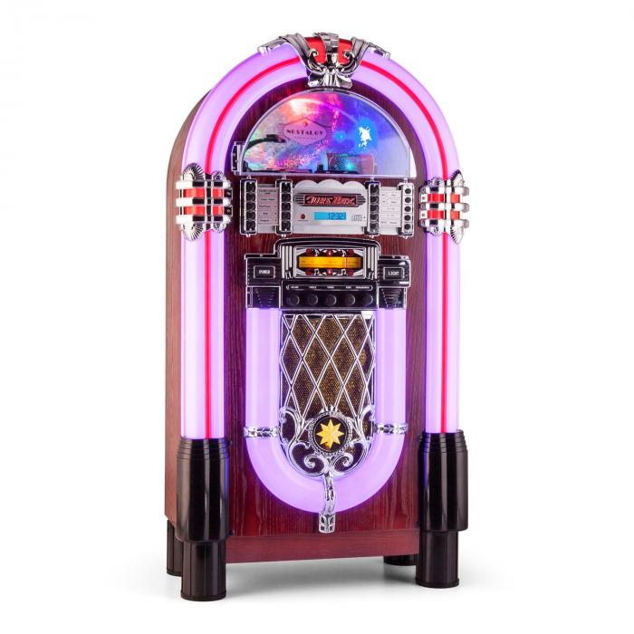 Graceland XXL BT Jukebox Bluetooth USB SD AUX CD OUC/Onde Medie