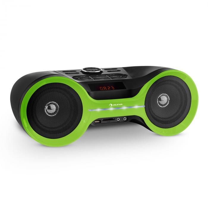 Boombastic Bluetooth-Boombox USB SD MP3 AUX FM LED