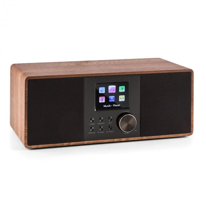 Connect 120 Radio internet Bluetooth WiFi DAB/DAB+ FM RDS USB MP3 marron