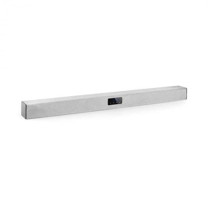 Areal Bar 150 Soundbar Bluetooth USB SD 2 x AUX inkl. Fernbedienung silber