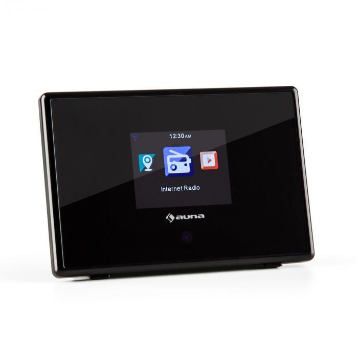 "iAdapt 240 Internet Radio Adapter WLAN 2.4"" TFT Colour Display Line-out Black"