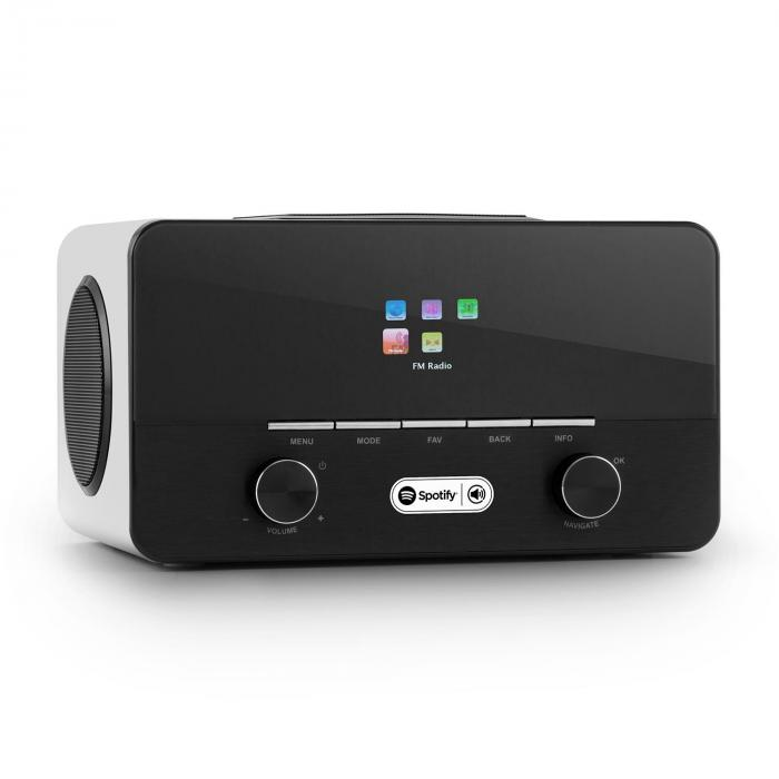 Connect 150 WH 2.1 Internet Radio Media Player Spotify Connect WLAN LAN USB DAB + FM RDS AUX