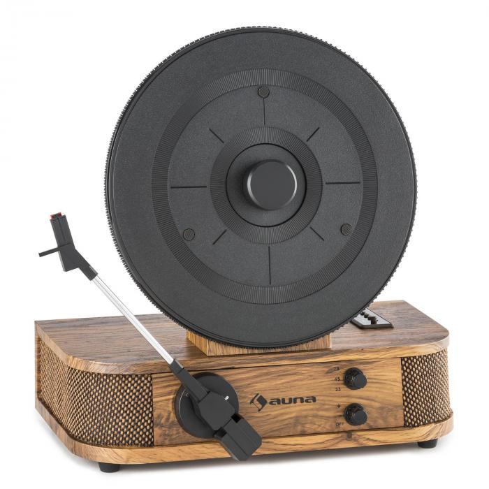 Verticalo S Tourne-disque au design rétro Plateau de disque vertical USB MP3