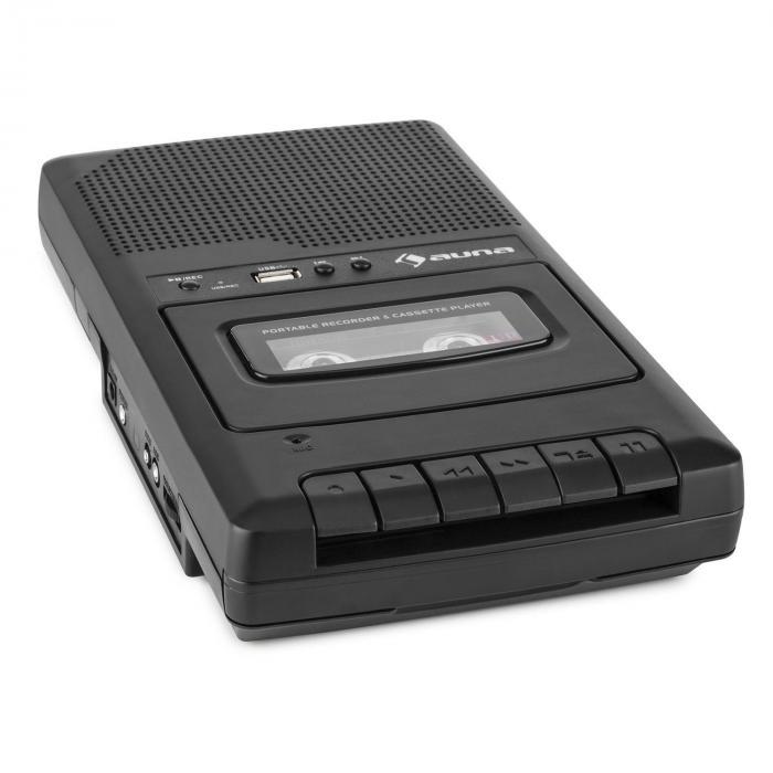 RQ-132USB portabler Kassettenrekorder Diktiergerät Tape Recorder Mikro USB