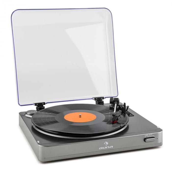 TT-10 BT Record Player bluetooth transmitter Line-out silver
