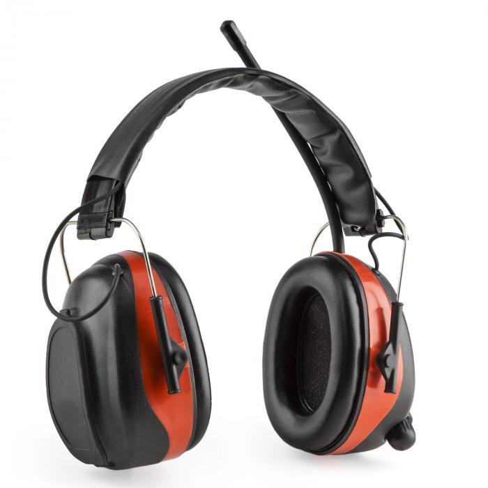 Jackhammer BT cascos anti ruido Radio FM 4.0 Bluetooth AUX in SNR 28dB
