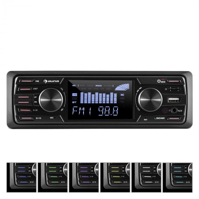 md 350bt autoradio deckless bt usb sd mp3 4x45wmax 3 lcd aux fernbedienung online kaufen. Black Bedroom Furniture Sets. Home Design Ideas