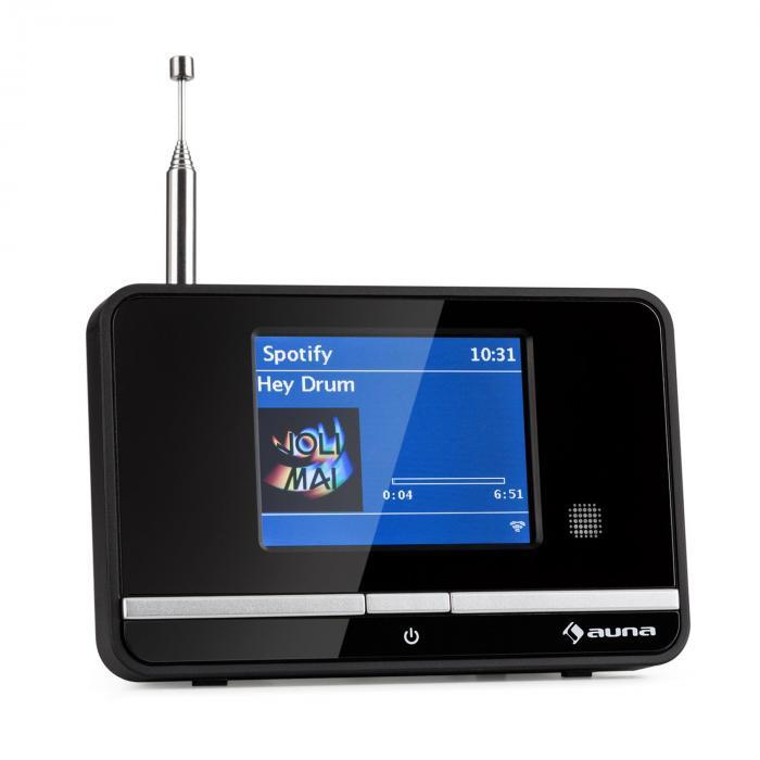 iAdapt 320 adaptador de radio por Internet WiFi DAB/DAB+ FM/MW pantalla TFT negro