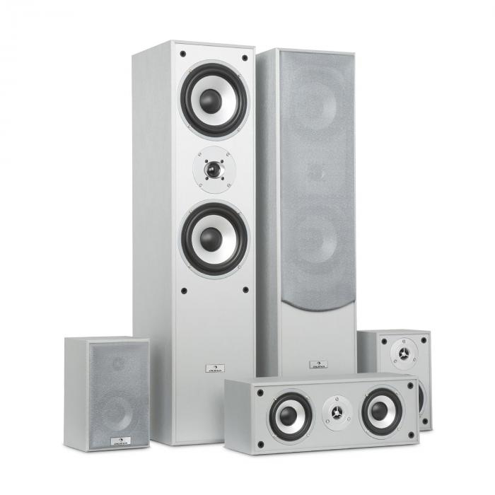 Surround Speaker Box Set Home Theatre 335W RMS Silver purcha