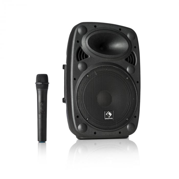 "Streetstar 10 Mobile PA System 10"" (25.5 cm) Woofer UHF Mic 400 Watts Max."