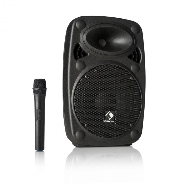"Streetstar 8 Mobile PA System 8"" (20 cm) Woofer UHF Mic 200 Watts Max."