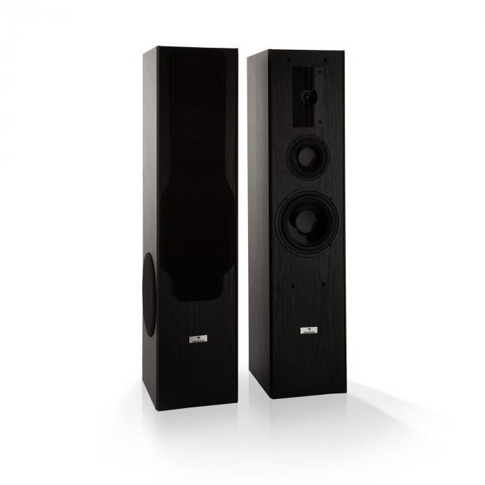Line E 1005 Standlautsprecher 3-Wege-HiFi-Lautsprecher 700 W max. schwarz