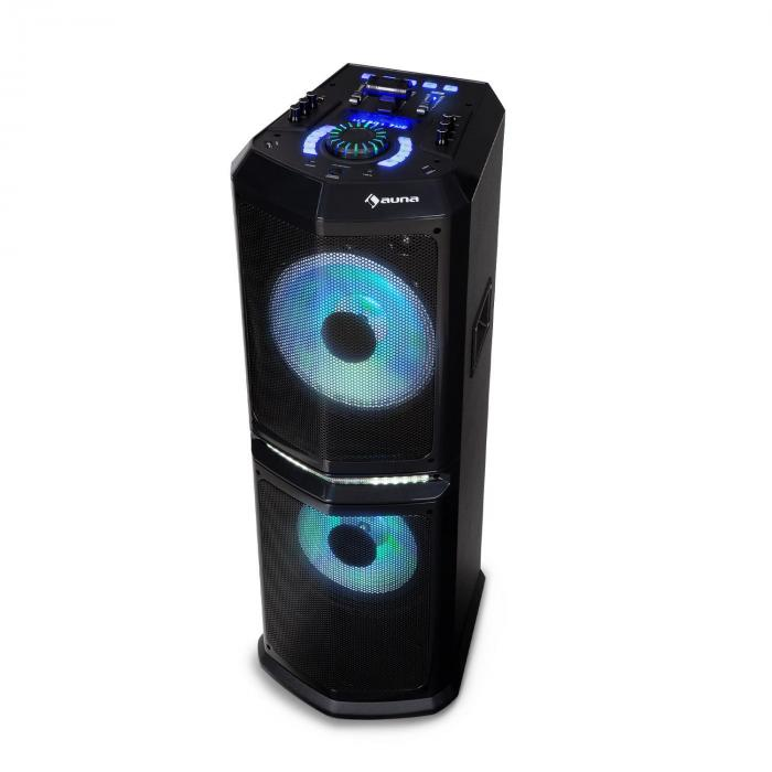 """Clubmaster 8000 Party-Audiosystem, 120 W max., 2 x 10"""" Woofer"""