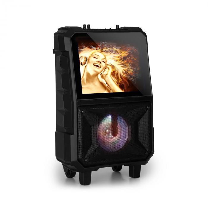 "CenterStage 8 Cassa-Karaoke Mobile, 40 W, Display 14,1"", Radiomicrofono"
