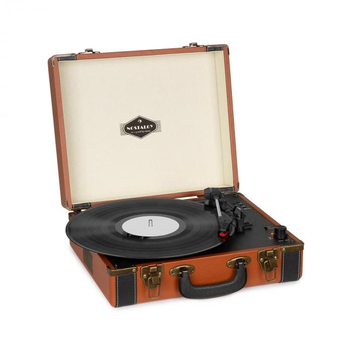 Jerry Lee BT Turntable BT USB Recording & Playback Brown