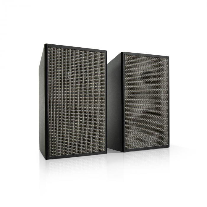 Pure Precision Box Active Speaker Set, 100 W max., 2-way, Black