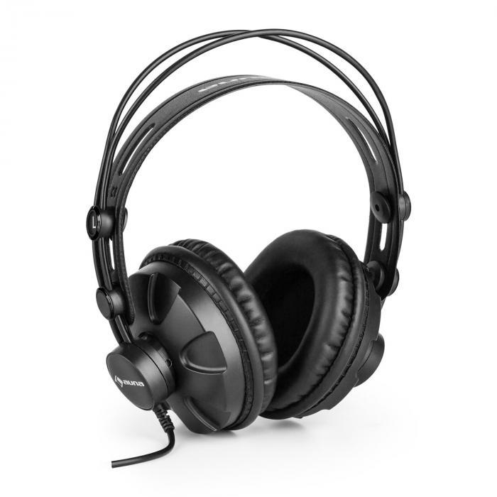 HR-580 Studiokopfhörer, Over-Ear-Kopfhörer, geschlossen, schwarz