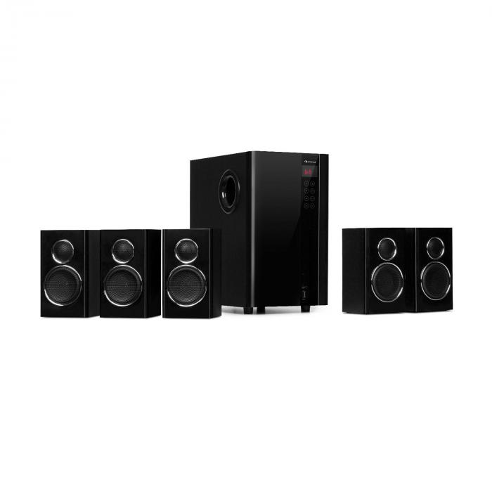 Areal Touch 5.1 Sistema de altavoces 200 W máx. OneSide Subwoofer Bluetooth USB SD