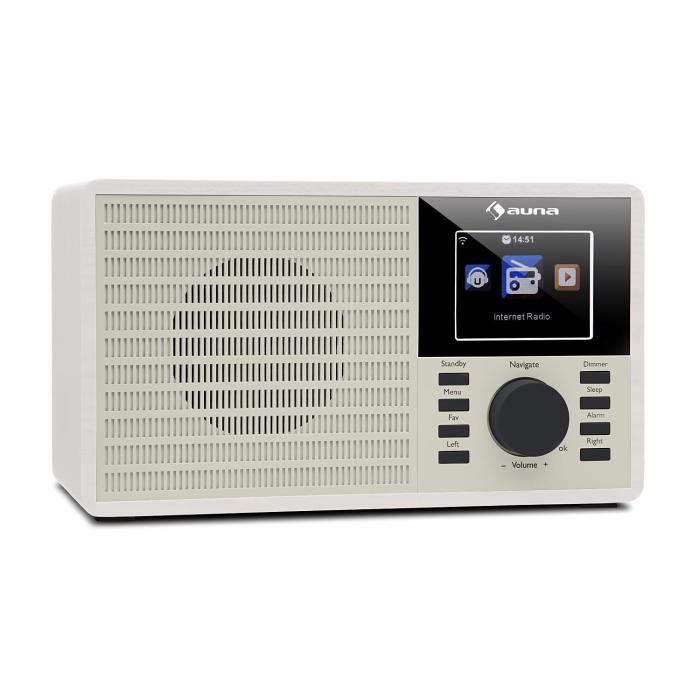 "DR-160 Digitalradio | Bluetooth | DAB+/FM-Radio | MP3-Player via USB-Port | AUX-In | 2.4"" TFT-Display"