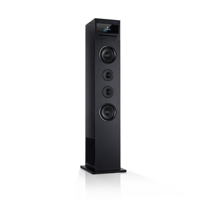 Karaboom 100 Wifi Turmlautsprecher Internetradio DAB+ BT 120W schwarz