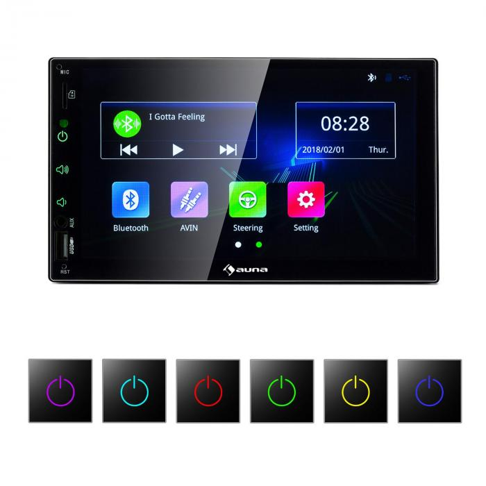 mvd 400 cp autoradio 7 touchscreen 4x45w bt android auto. Black Bedroom Furniture Sets. Home Design Ideas