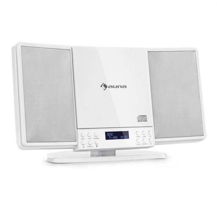 V14-DAB Vertical-Stereoanlage CD FM und DAB+ Tuner BT weiß