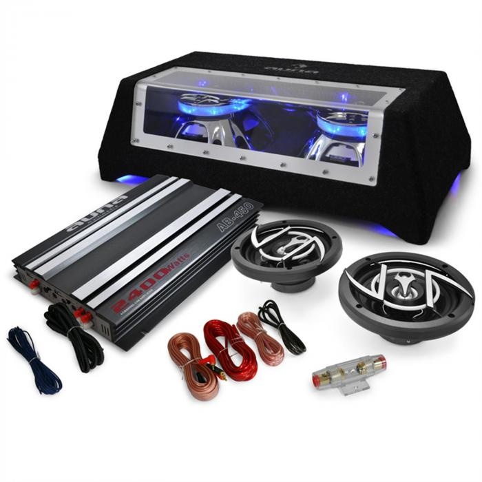 2.1 Car HiFi 'Platin Line 320' Amplifier Speakers Subwoofer