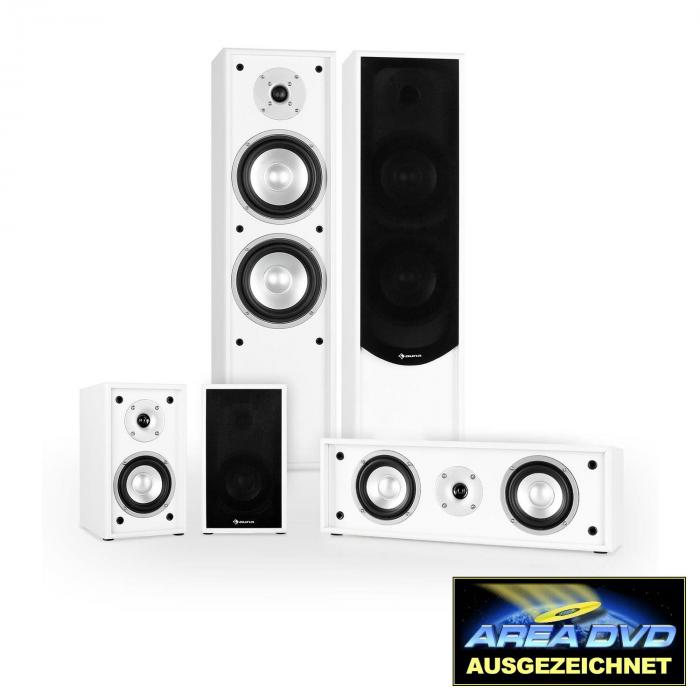 Linie-300-WH Home Theatre 5.0 265W RMS bianco