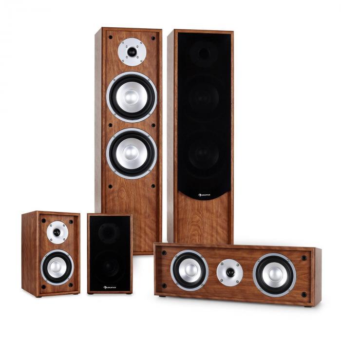 Line 300-WN 5.0 Home Cinema Hi-Fi Speaker System 265W RMS - Walnut