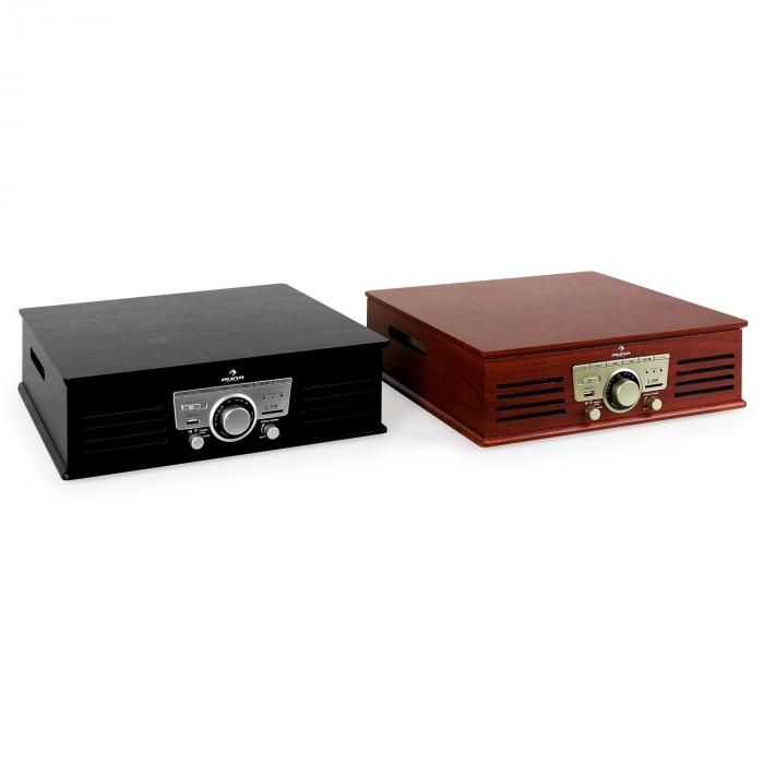 tt 92w plattenspieler usb sd aux ukw kirsche kirschbaum online kaufen. Black Bedroom Furniture Sets. Home Design Ideas