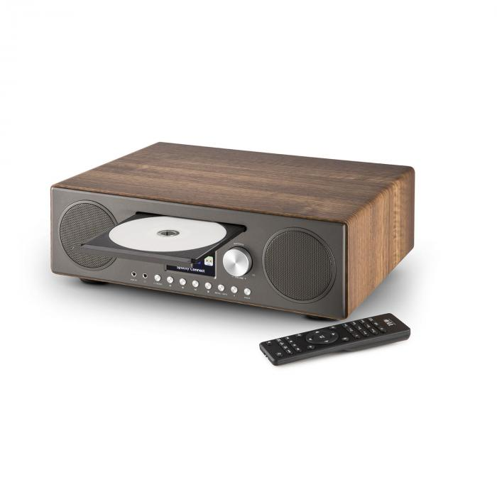 Internet Radio Connect CD Media Player Spotify walnut