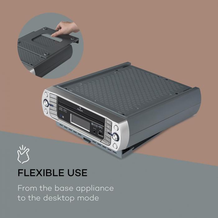 Kitchen Cabinet Radio Cd Player: KR-500 CD Kitchen Radio, Internet / PLL FM, Built-in WiFi