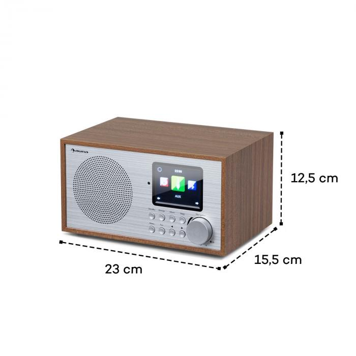 silver star mini internet dab fm radio wifi bt dab. Black Bedroom Furniture Sets. Home Design Ideas