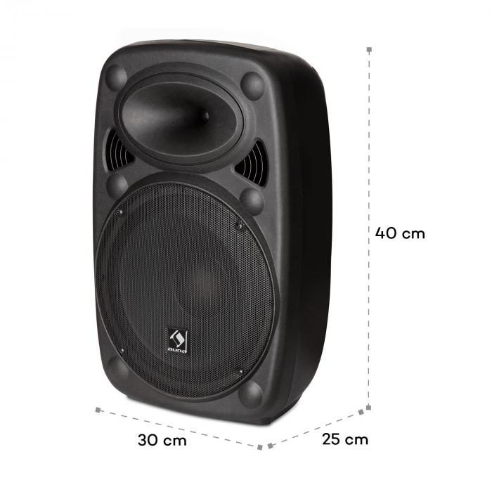 slk 8 a aktiver pa lautsprecher 8 300 w max usb und sd. Black Bedroom Furniture Sets. Home Design Ideas