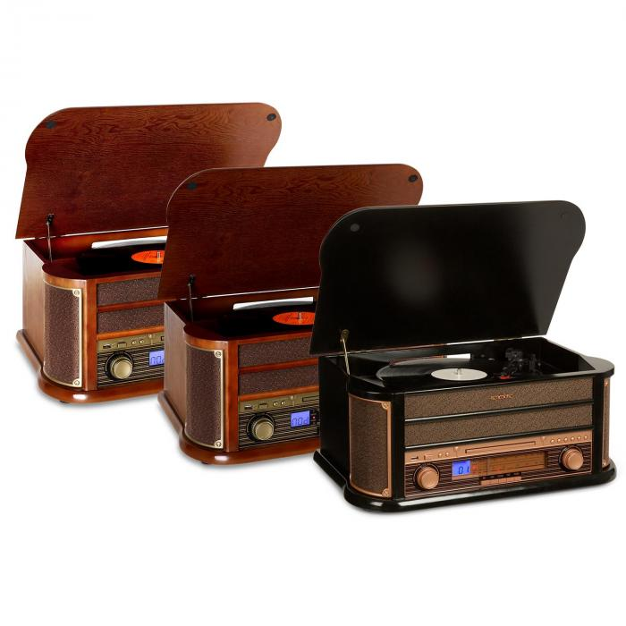 belle epoque 1908 cha ne st r o r tro platine vinyle usb cd mp3 radio k7. Black Bedroom Furniture Sets. Home Design Ideas