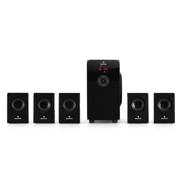 HF583 51 Surround Sound Speakers USB SD MP3 70W RMS