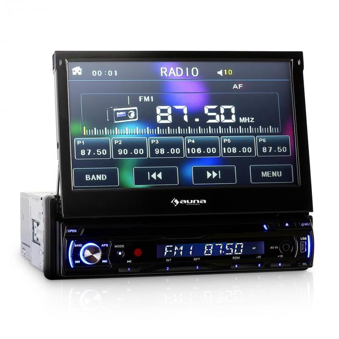dta90 autoradio avec lecteur dvd et cran 18cm usb sd. Black Bedroom Furniture Sets. Home Design Ideas