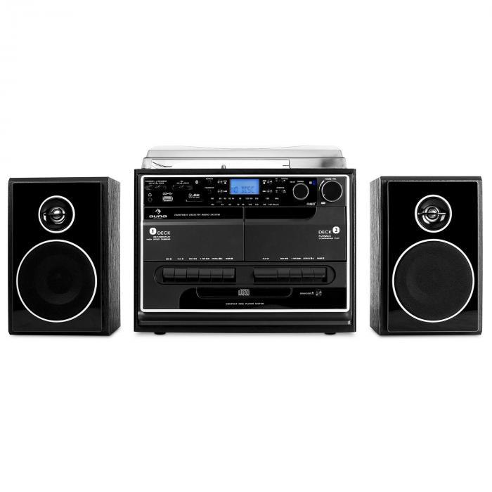 388 bt stereoanlage plattenspieler kassette bluetooth. Black Bedroom Furniture Sets. Home Design Ideas