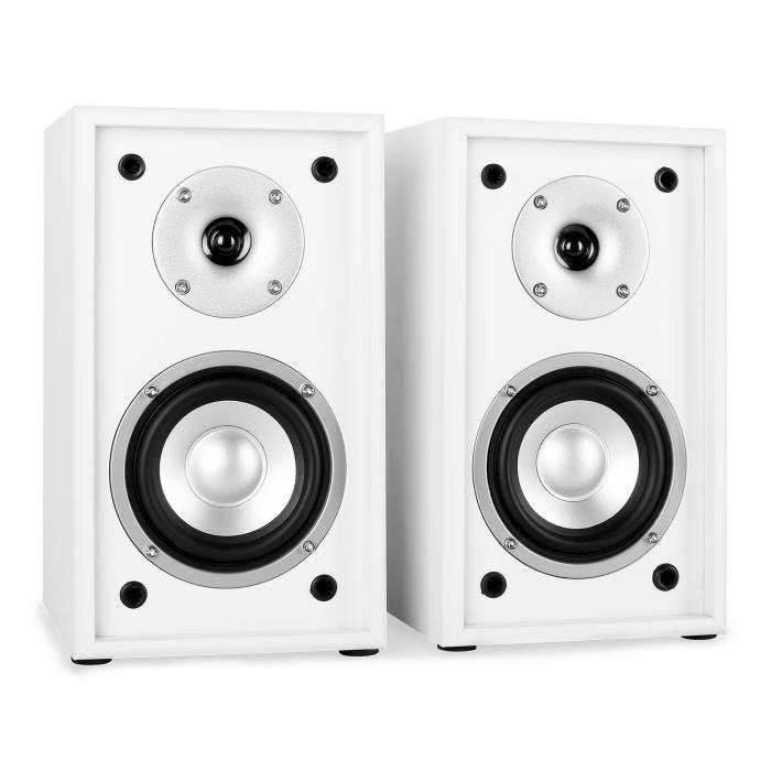 Line 300 SF WH 2 Way Passive Bookshelf Speakers Pair 150W White