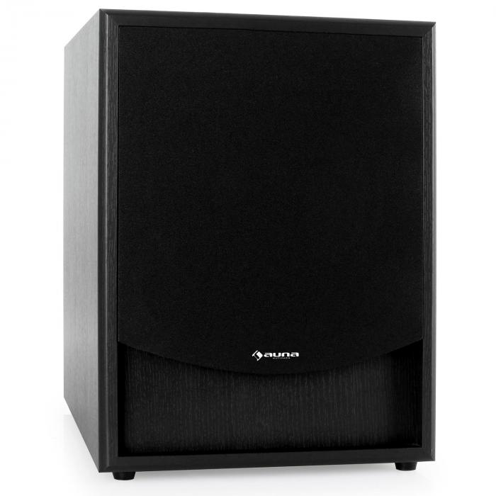 linie 300 sw bk aktiv subwoofer aux schwarz schwarz. Black Bedroom Furniture Sets. Home Design Ideas