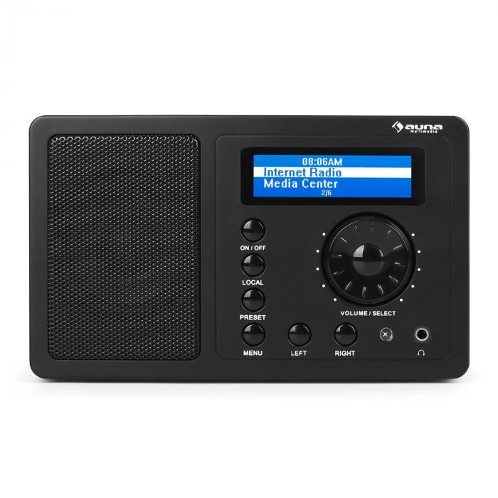 Ir 130 internet radio wifi streaming full range speaker for Radio parlamento streaming