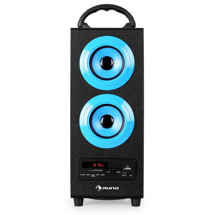beachboy bluetooth lautsprecher usb sd aux ukw mw blau blau l online kaufen. Black Bedroom Furniture Sets. Home Design Ideas