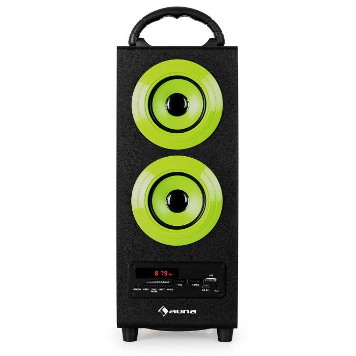 beachboy enceinte usb sd bluetooth fm verte vert l. Black Bedroom Furniture Sets. Home Design Ideas