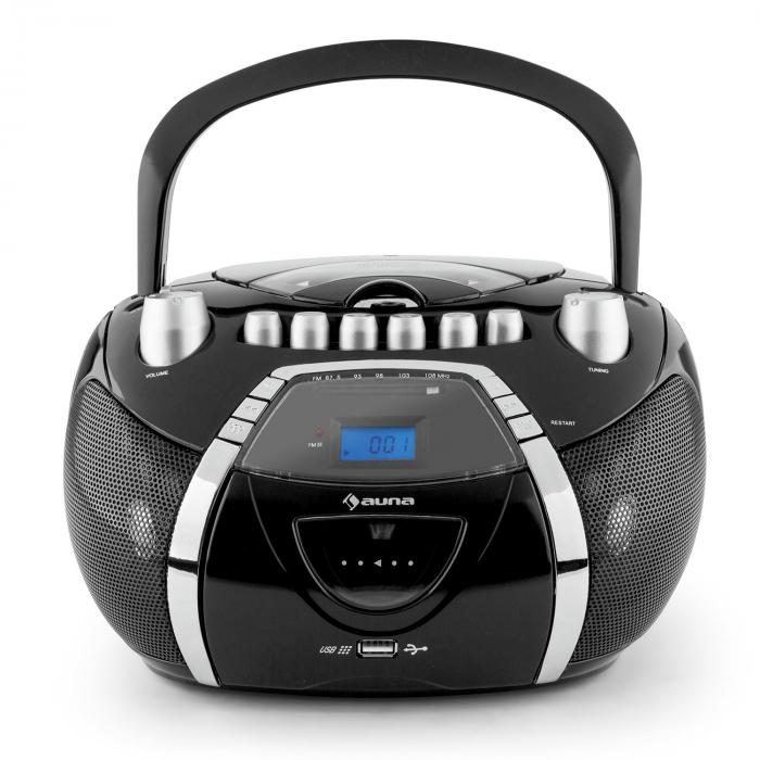 beeboy ghettoblaster cd mp3 usb schwarz online kaufen. Black Bedroom Furniture Sets. Home Design Ideas