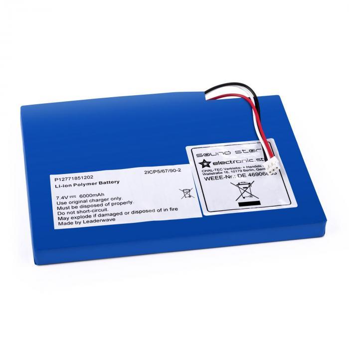 Batterie de rechange pour ghettoblaster auna soundstorm lithium polym re - Parkside batterie de rechange ...