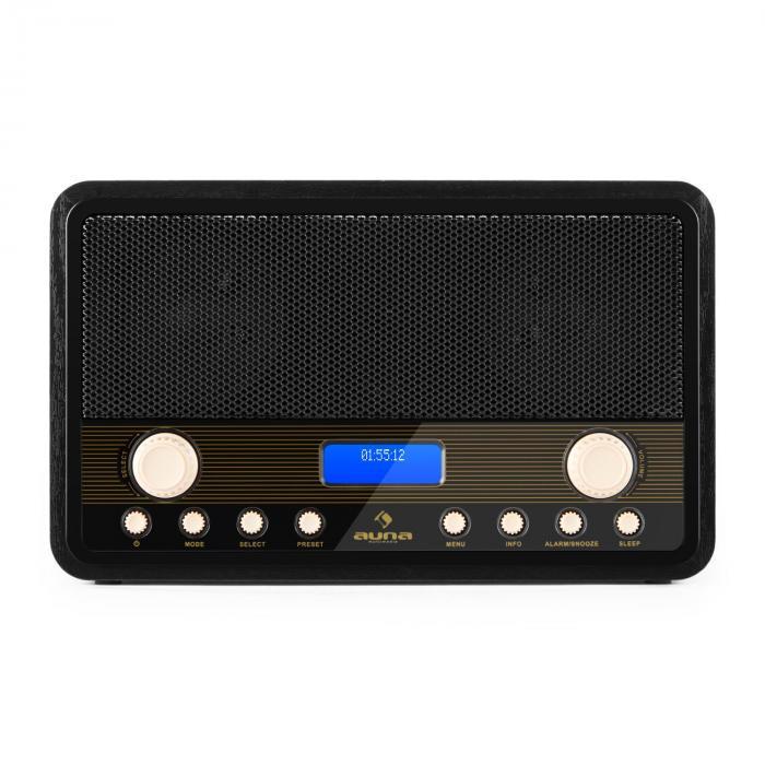 digidab retro dab digital radio fm pll alarm clock purchase online. Black Bedroom Furniture Sets. Home Design Ideas