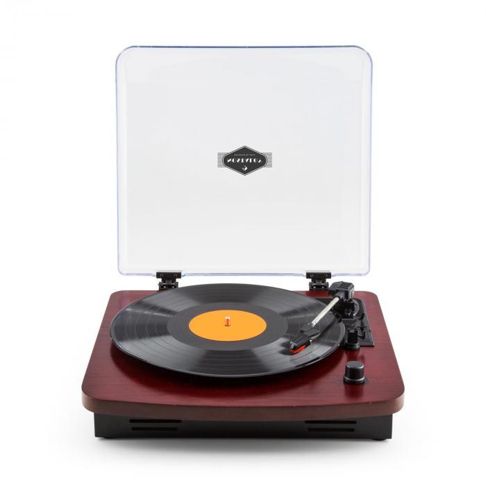 tt370 tourne disque platine vinyle r tro haut parleurs int gr s usb mp3 aux bordeaux cerise. Black Bedroom Furniture Sets. Home Design Ideas
