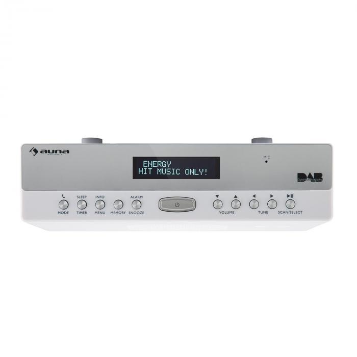 Radio For Kitchen Cabinet: KR-100 DAB Kitchen Radio Under-Counter DAB + Bluetooth